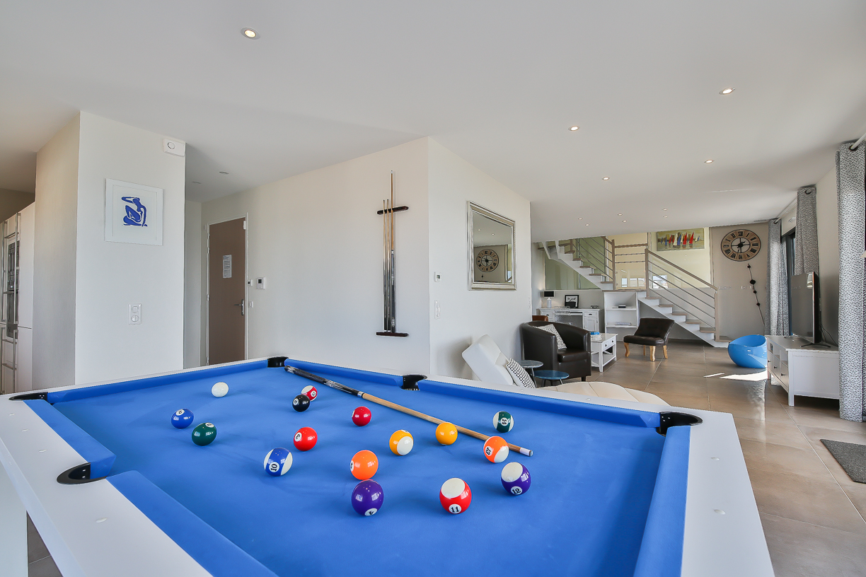Billard duplex, villa de luxe le lagon